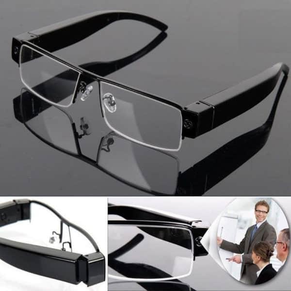 Mắt kính camera V13 Full HD ngụy trang quay lén hoàn hảo