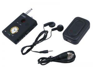 Máy phát hiện nghe lén, nghe trộm CX007 là thiết bị hỗ trợ phát hiện máy nghe lén số 1 hiện nay.