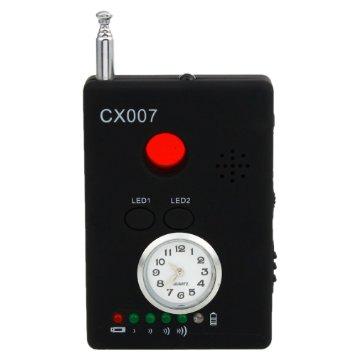 Máy phát hiện nghe lén, nghe trộm CX007 đảm bảo an toàn thông tin.